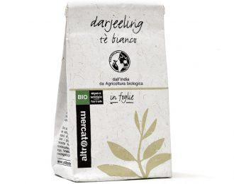 Darjeeling από την Ινδία Βιολογικό Λευκό Τσάι σε φύλλα